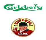 Carlsberg and Tetleys